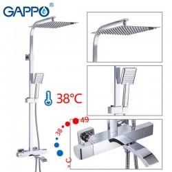 Душевая система с термостатом хром G2407-40