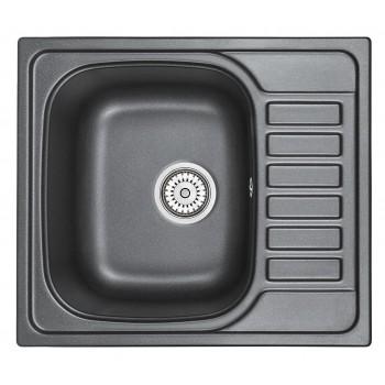 Кухонная мойка Granula 5801 (Шварц)