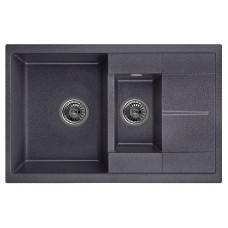 Кухонная мойка Granula 7802 (Черный)