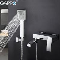Смеситель для ванны Gappo G3207 (Хром)