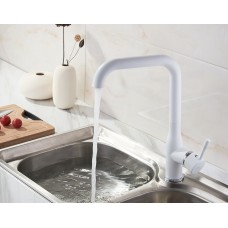 L4698W Cмеситель для кухни (Белый)