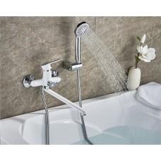 L2203W Cмеситель для ванны (Белый)